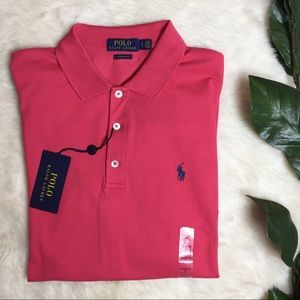 NWT Polo Ralph Lauren Classic Fit Mesh S/S Polo